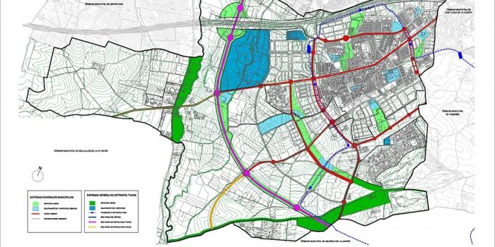 PGOU Bormujos 02 Estructura urbana
